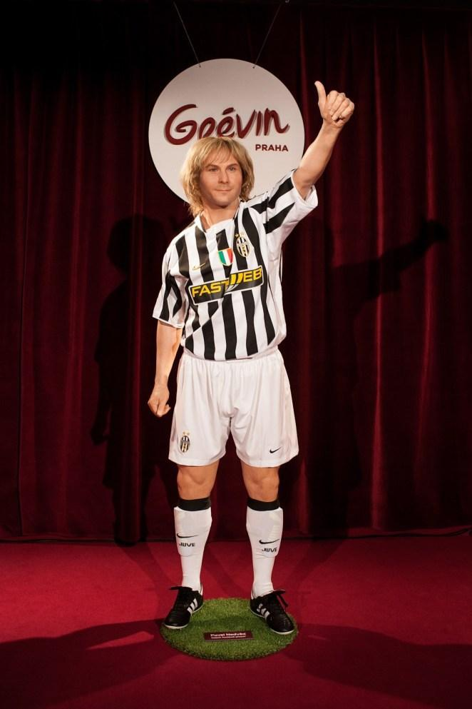 Pavel Nedved grevin wax museum in Prague